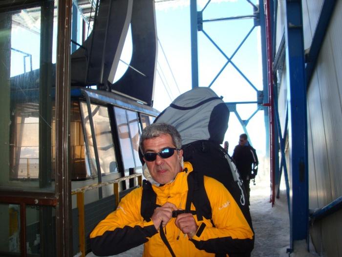 Massimo Rotellini pronto per il decollo