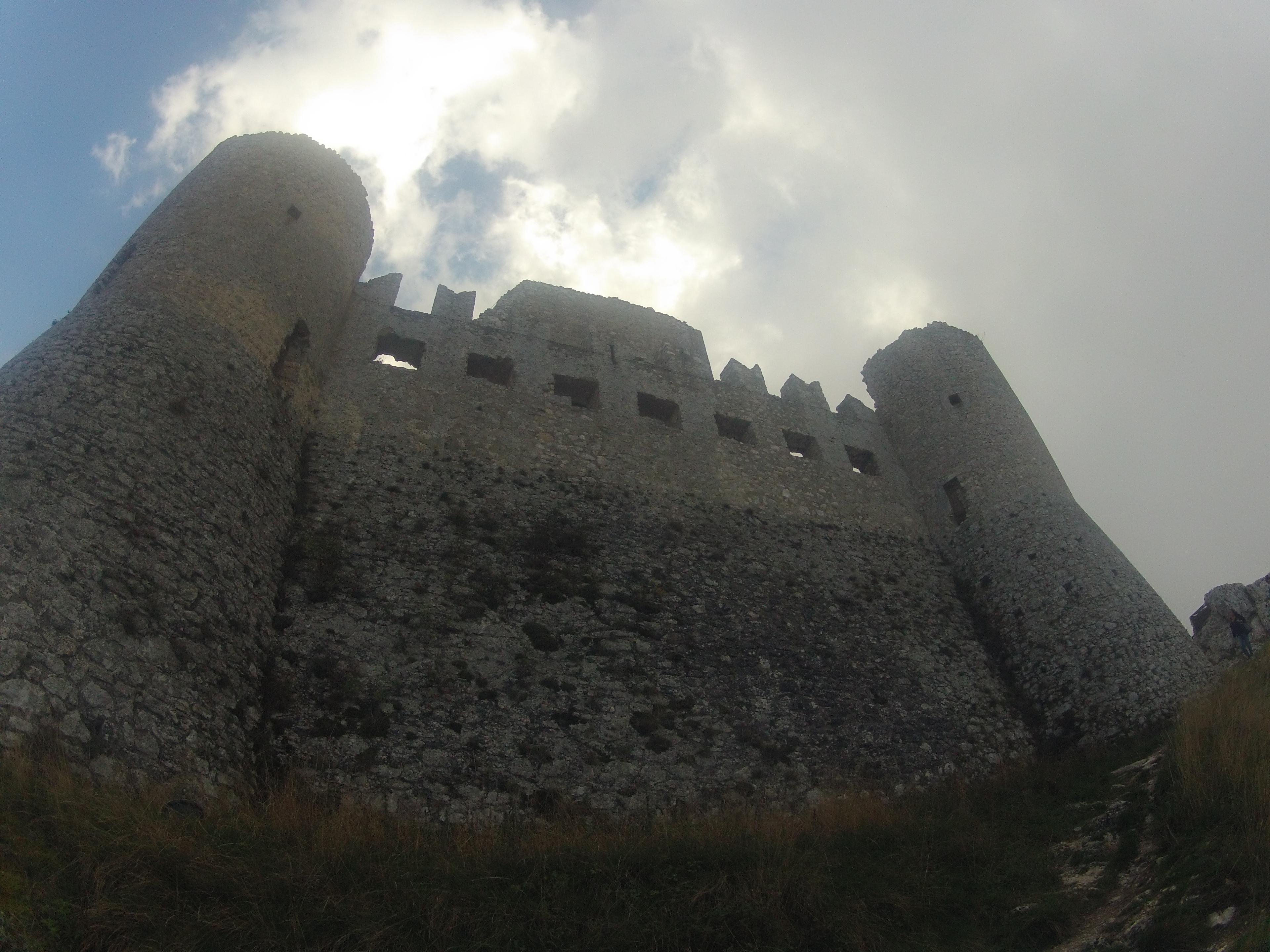 5 Ottobre - visita a Rocca Calascio dopo i voli