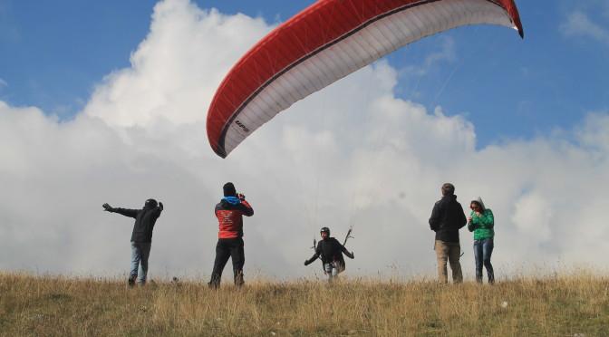 foto attività outdoor – parapendio – Festival della Montagna 2014