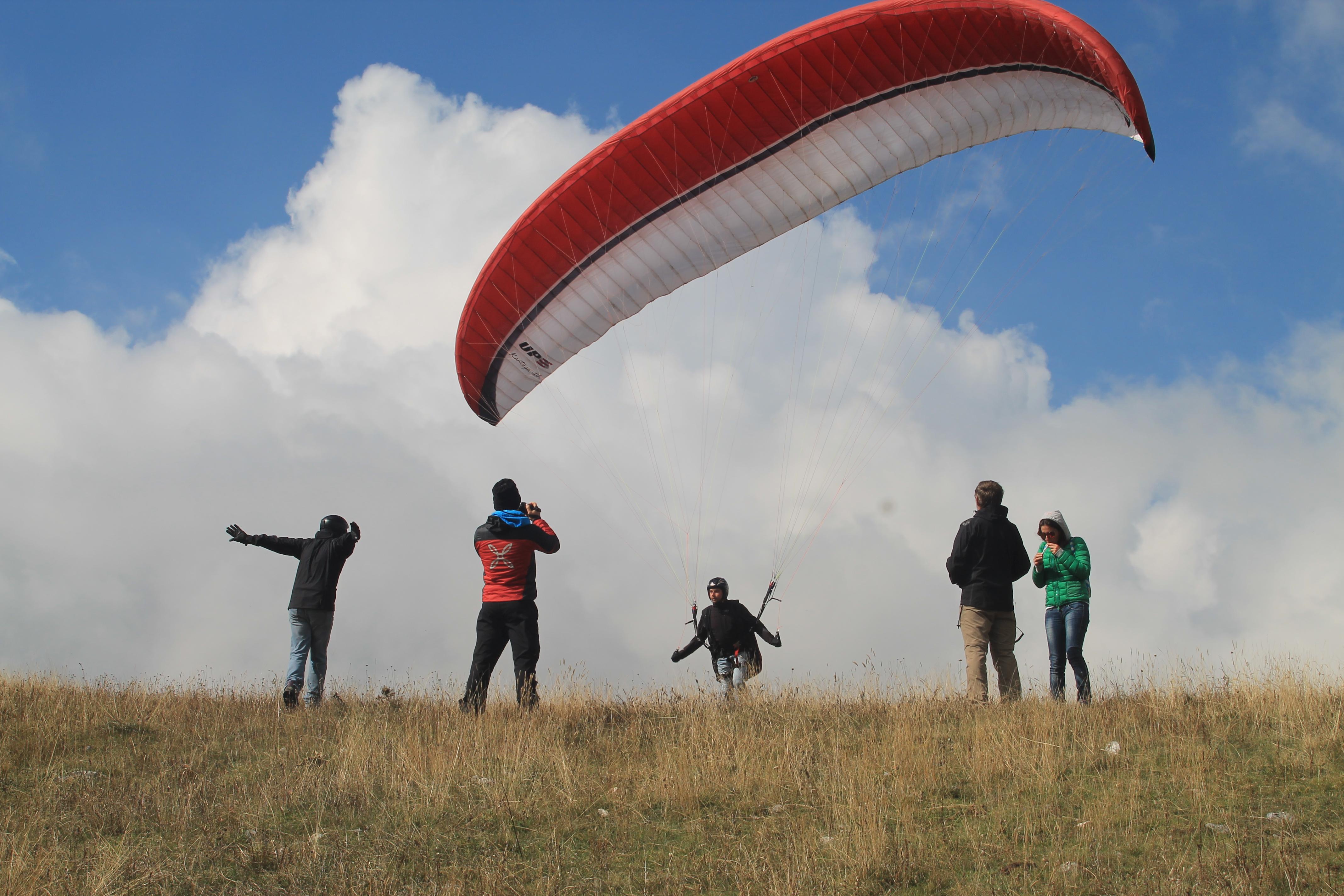 4 Ottobre - gonfiaggi al decollo Claudio Pasquali